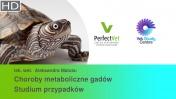 Choroby metaboliczne gadów. Studium przypadków. (2/2)